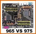 Chipset Intel 965 e 975 a confronto su E6400