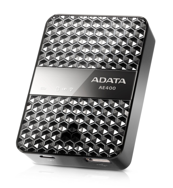 ADATA annuncia DashDrive Air AE400, prodotto che abbina lo storage locale a una batteria supplement​are