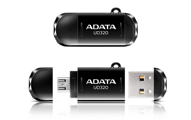 ADATA DashDrive Durable UD320 per connettersi al PC e allo smartphone