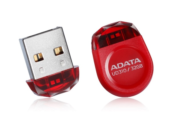 UFD-UD310-Red 45degrees 32GB