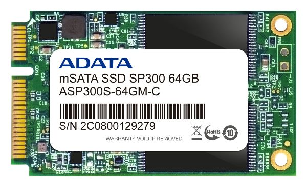 mSATA SP300_64GB_L