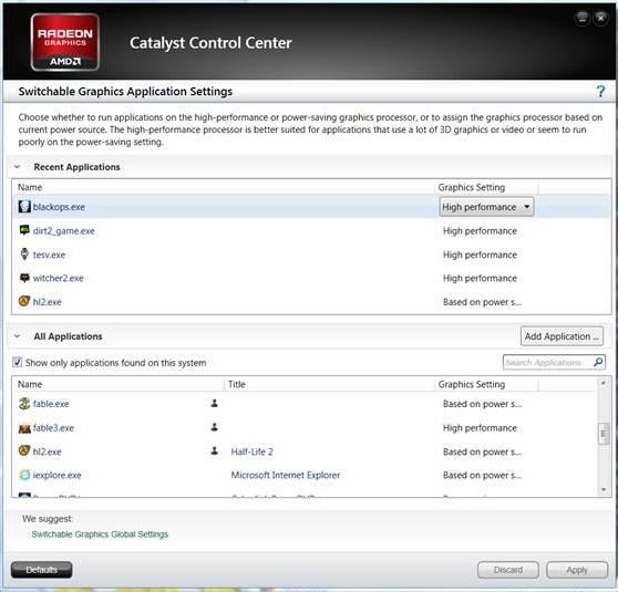AMD: driver Catalyst 12 10 e 12 11 beta sono disponibili per