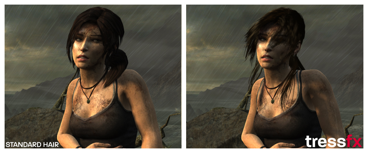 AMD TressFX Lara Croft Tomb raider 03