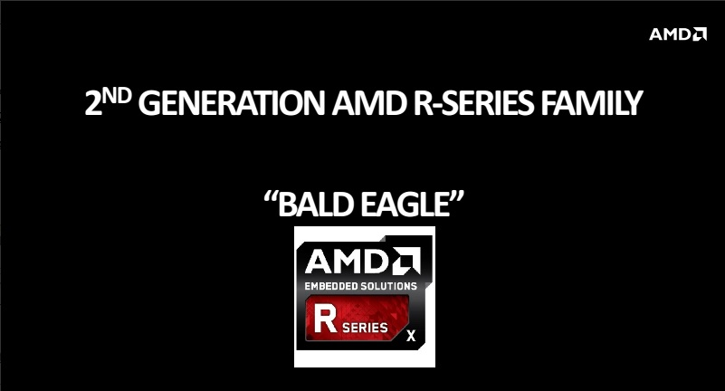 AMD BALD EAGLE: nuove soluzioni EMBEDDED R-Series presentate