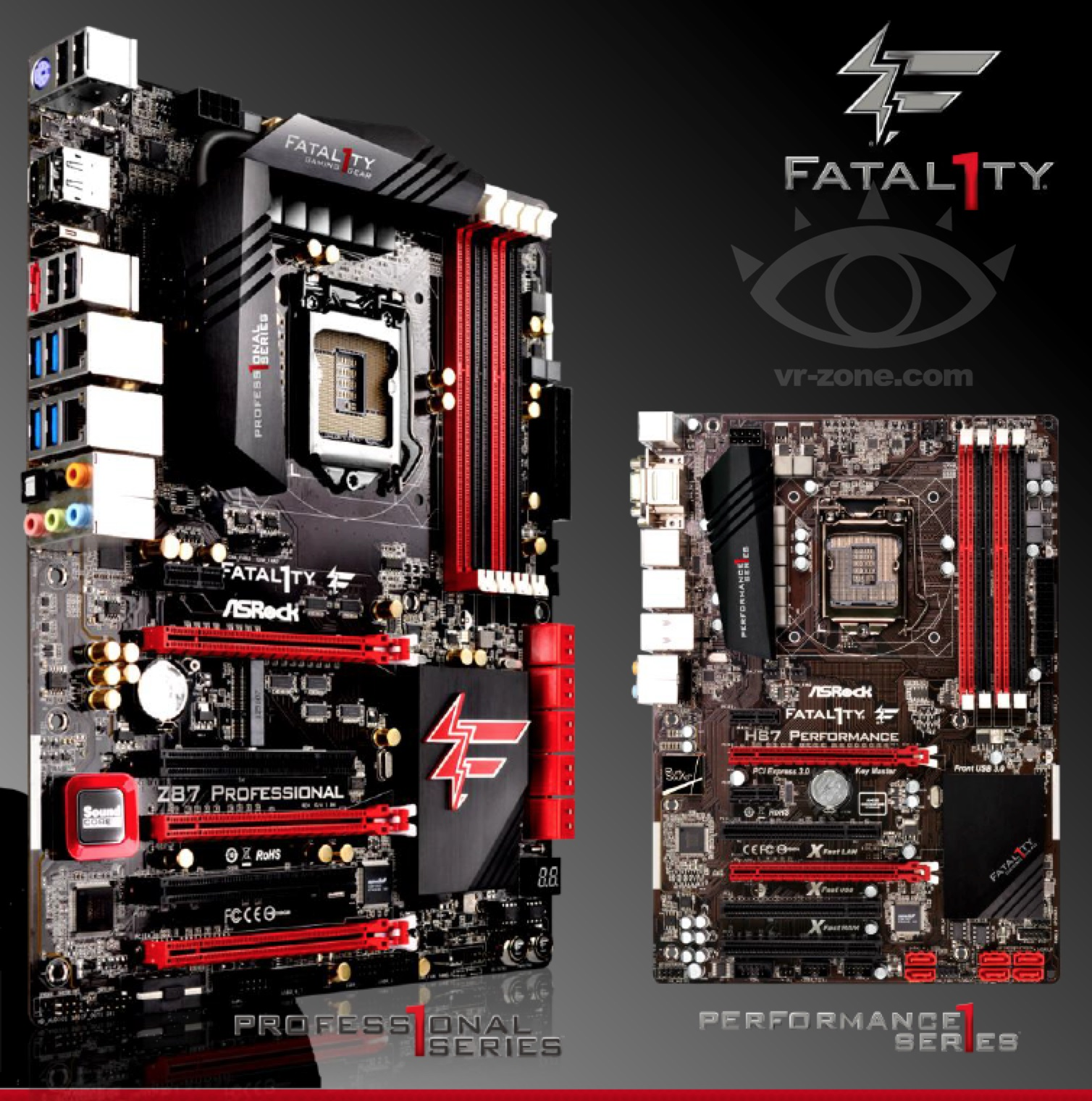 ASRock z87 fatal1ty professional h87 performance