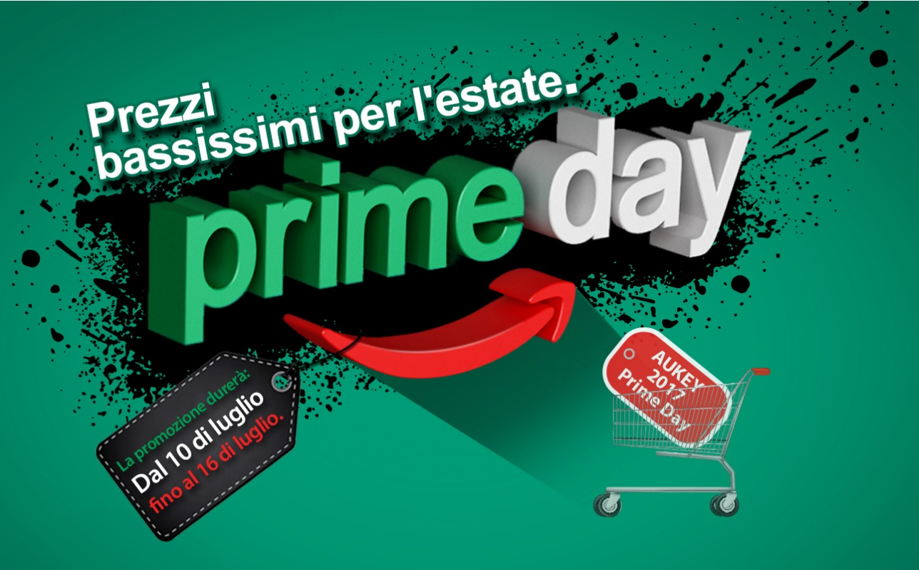 Le offerte di AUKEY per l'Amazon Prime Day 2017