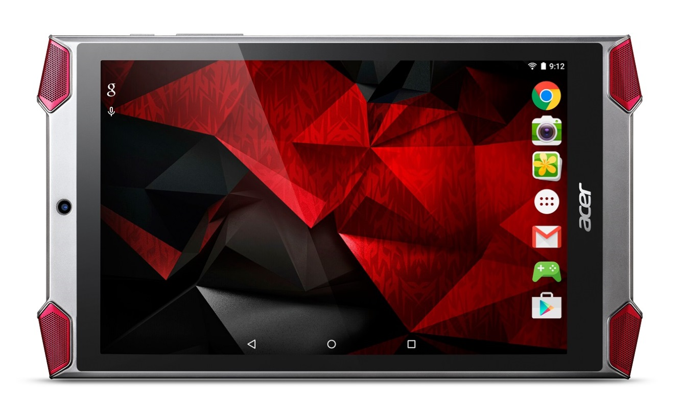 [IFA 2015] Acer annuncia il tablet gaming Predator 8 GT-810