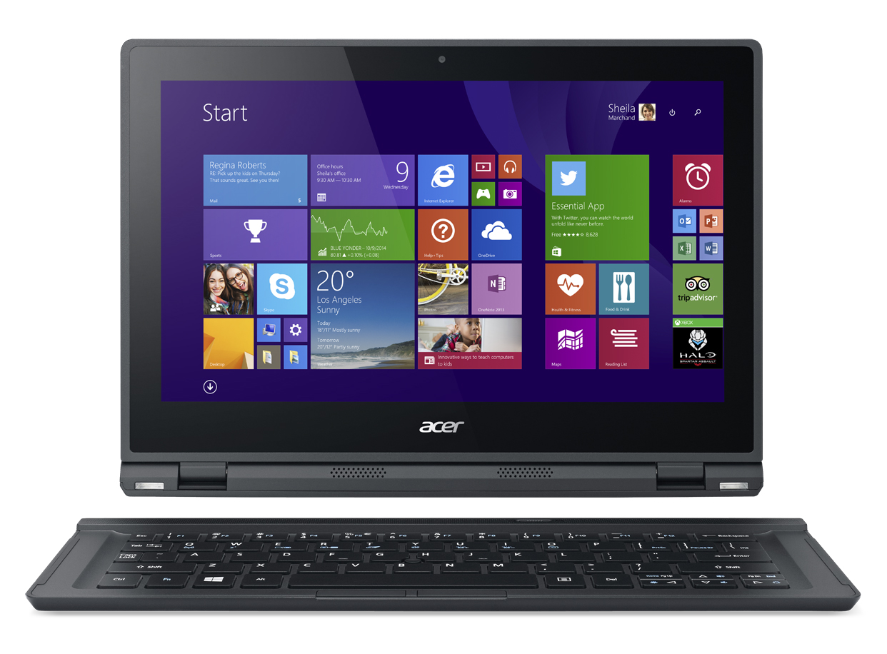 Acer Aspire Switch 12, notebook 2-in-1 con schermo Full HD
