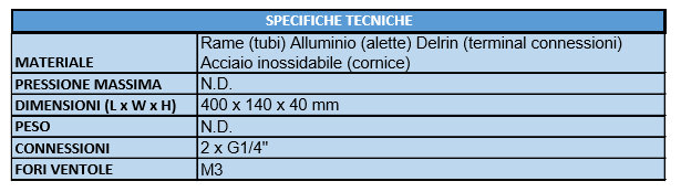 AQUACOMPUTER AIRPLEX RADICAL 2 360 CONFEZIONE 10 specifiche