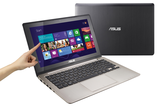 ASUS presenta la serie VivoBook con touch screen per Windows 8