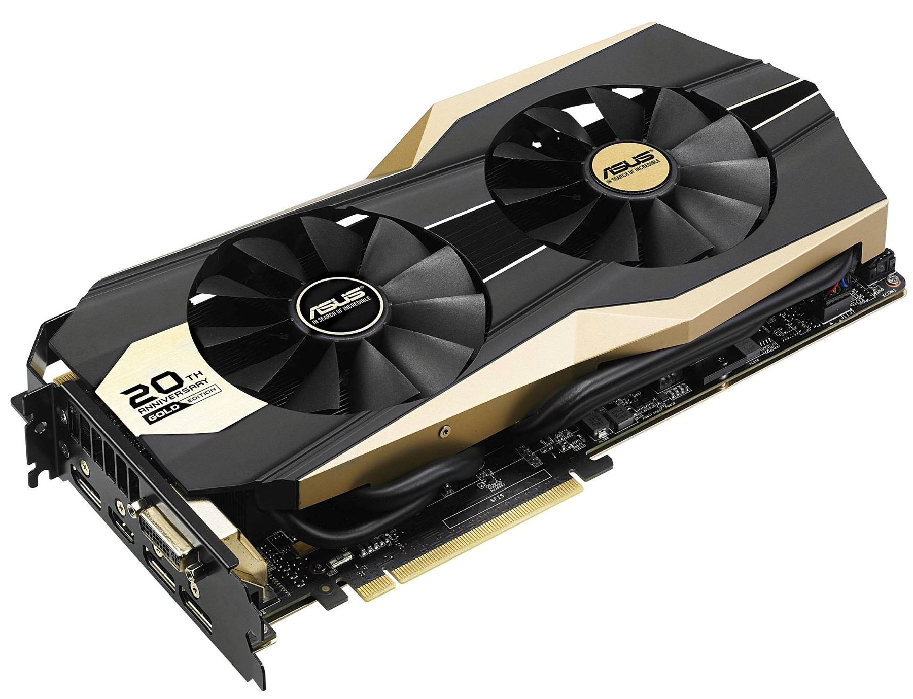 ASUS presenta la GTX 980 20th Anniversary Golden Edition e la GTX 970 Turbo