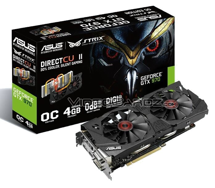 ASUS GTX 970 STRIX 4GB in mostra