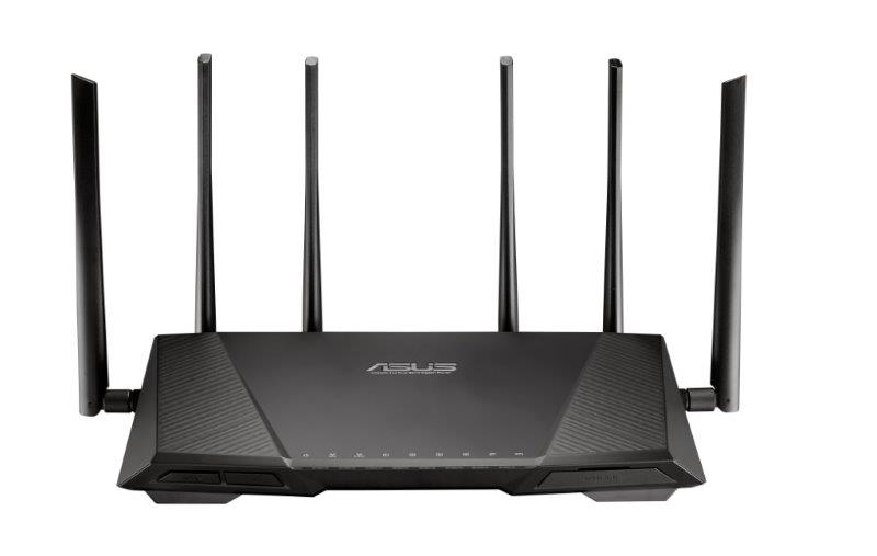 ASUS RT-AC3200, il nuovo router gigabit tri-band