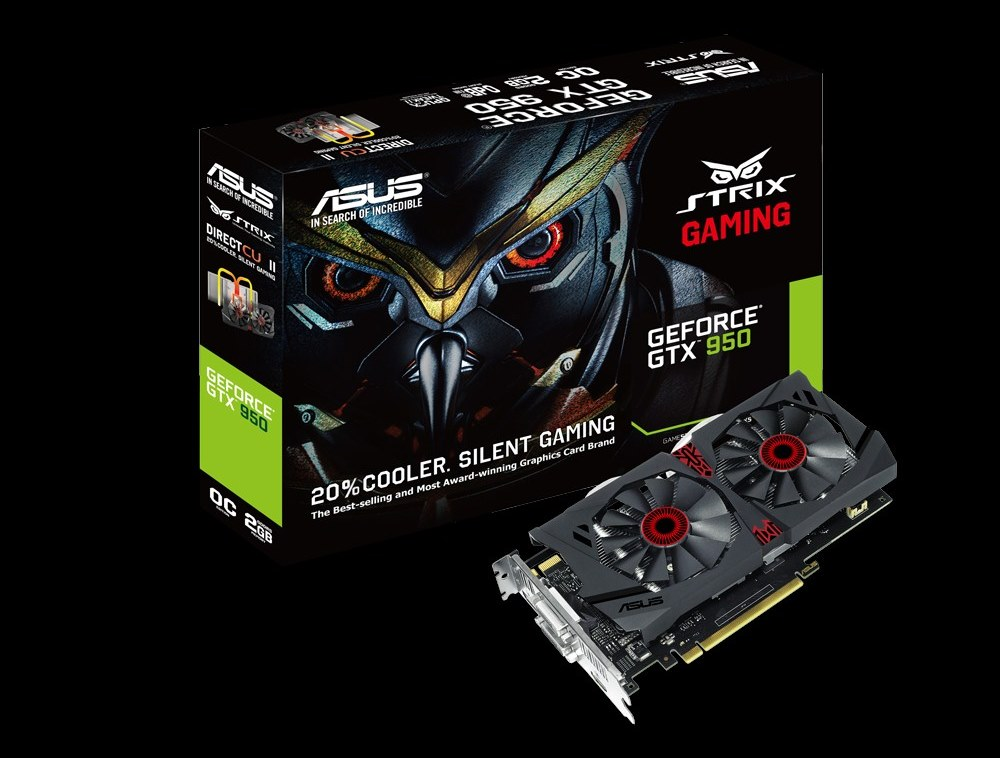 È disponibile la versione STRIX di ASUS per la GTX 950