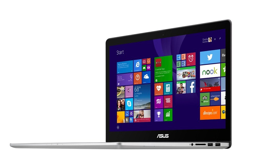 ASUS ZenBook Pro UX501 con display 4K, IPS e multi-touch