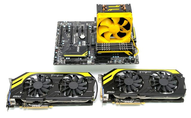 AVEXIR MSI MPOWER Z77 TWIN FROZR