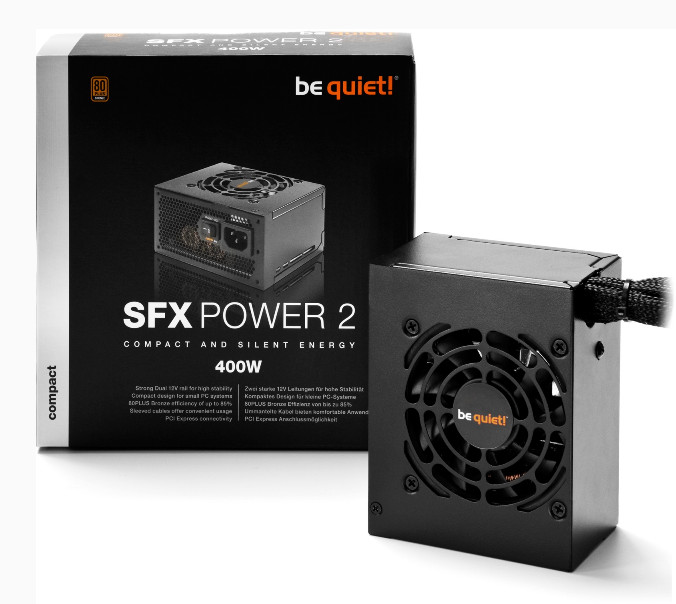 Alimentatori SFX Power 2 e TFX Power 2 da be quiet!