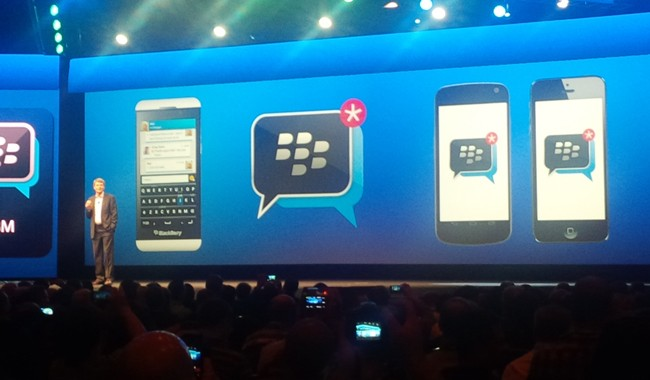 BlackBerry per la svolta: BlackBerry Messanger in estate su dispositivi iOS e Android
