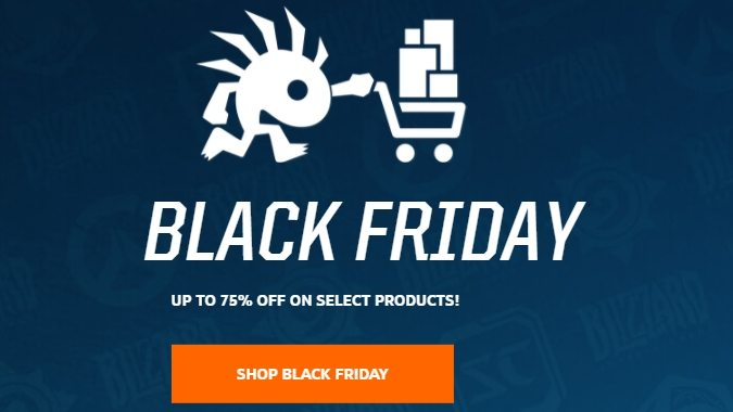 Il Black Friday di Blizzard - Overwatch Free Trial e grandi sconti su giochi e merchandise