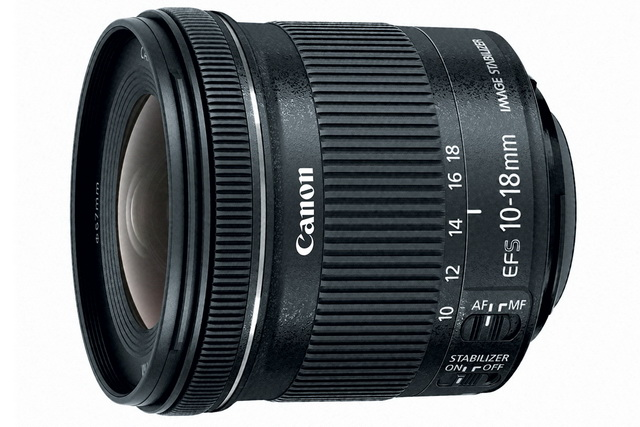 Canon EF-S 10-18mm f 4.5-5.6 IS STM