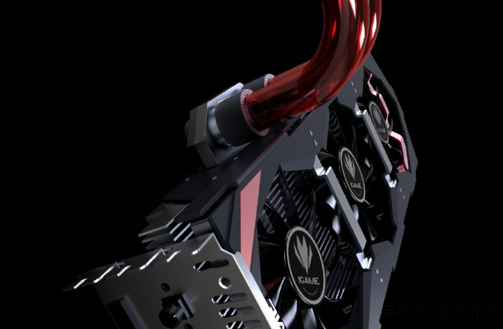 Colorful iGame GTX 780 Ti Kudan; l'hybrid cooler a tre slot