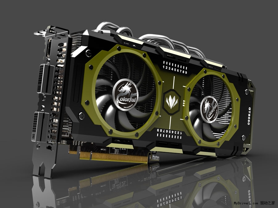 Colorful GTX 660 Glorious Mission 01