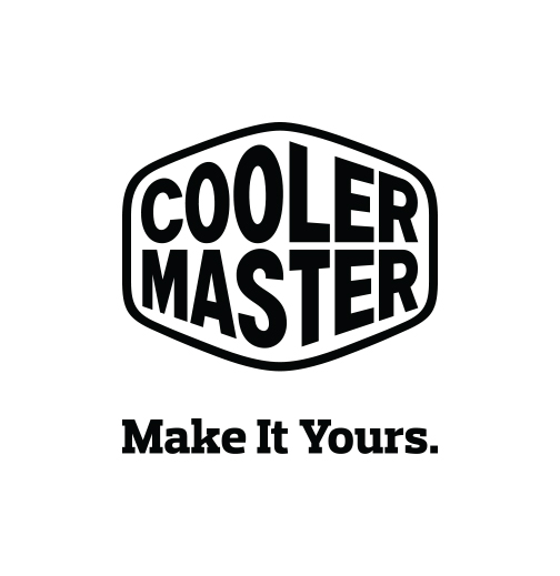 Cooler Master Logo Slogan Middle