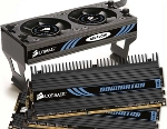 Corsair Dominator 6GB PC3-12800 DDR3 3x2 GB