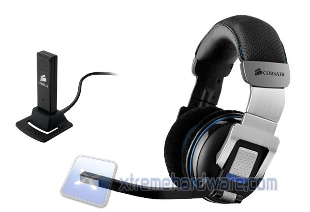 Gaming headset Corsair Vengeance 2000 wireless 7.1