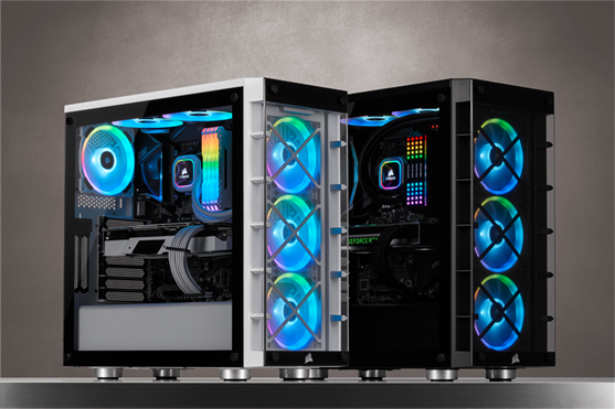 CORSAIR presenta lo smart case iCUE 465X RGB