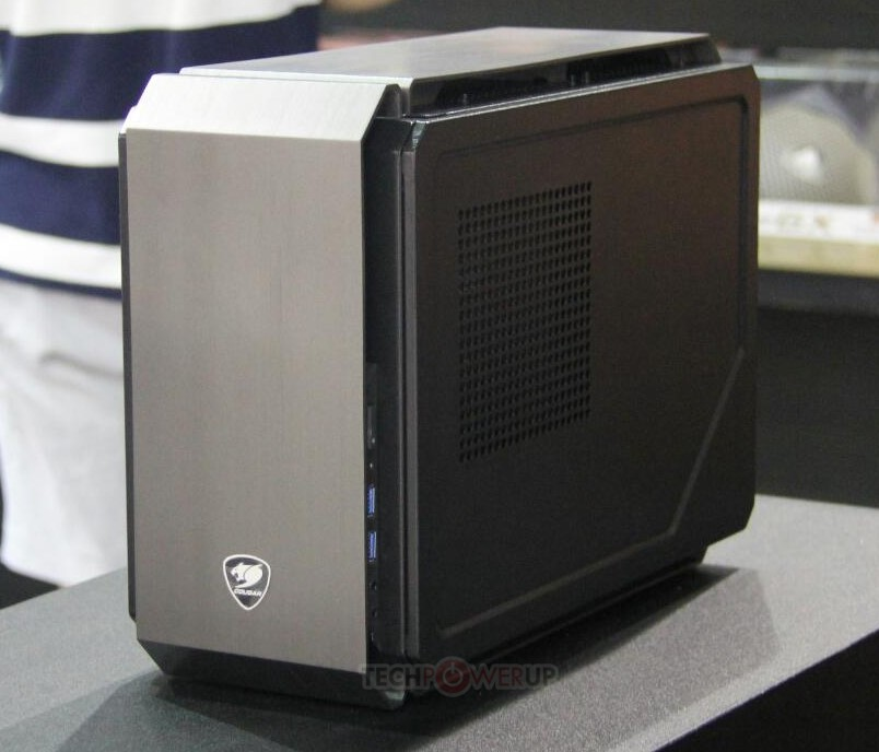 [Computex 2014] Cougar svela QBX: case Mini-ITX
