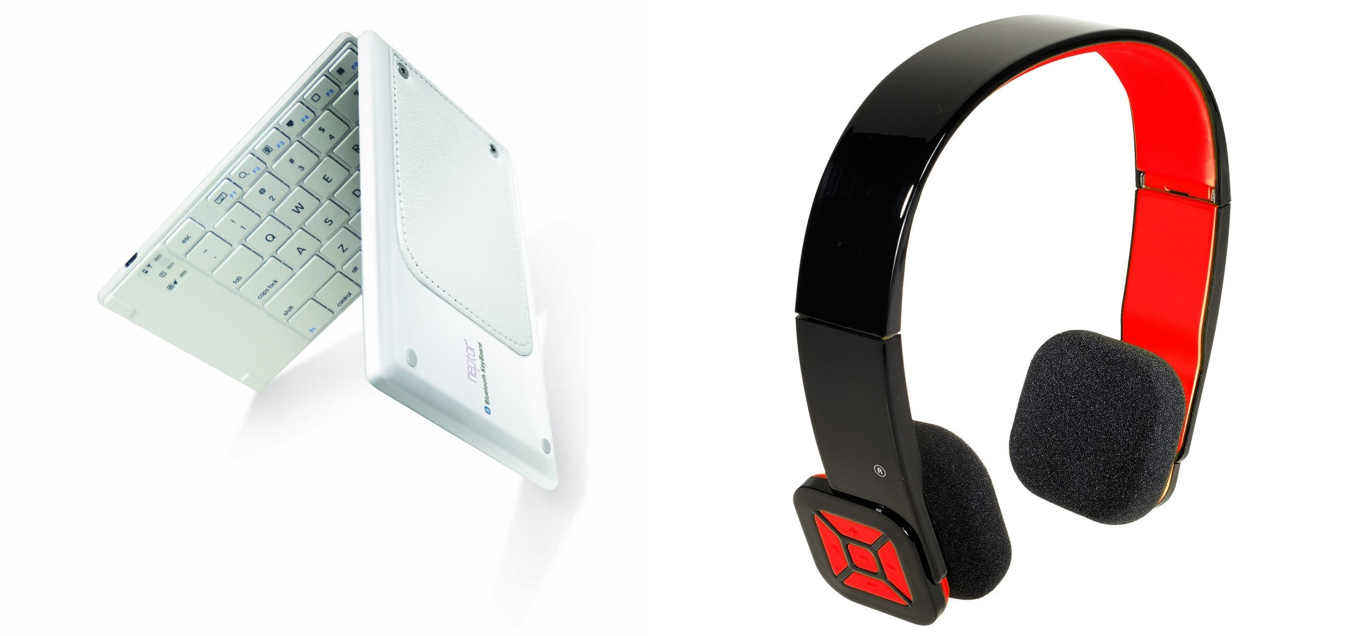 Eagle Tech Arion Bluetooth Headset e Neptor Foldable Bluetooth Keyboard