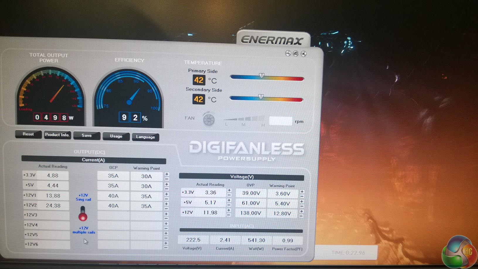 Enermax DigiFanless 550W 08
