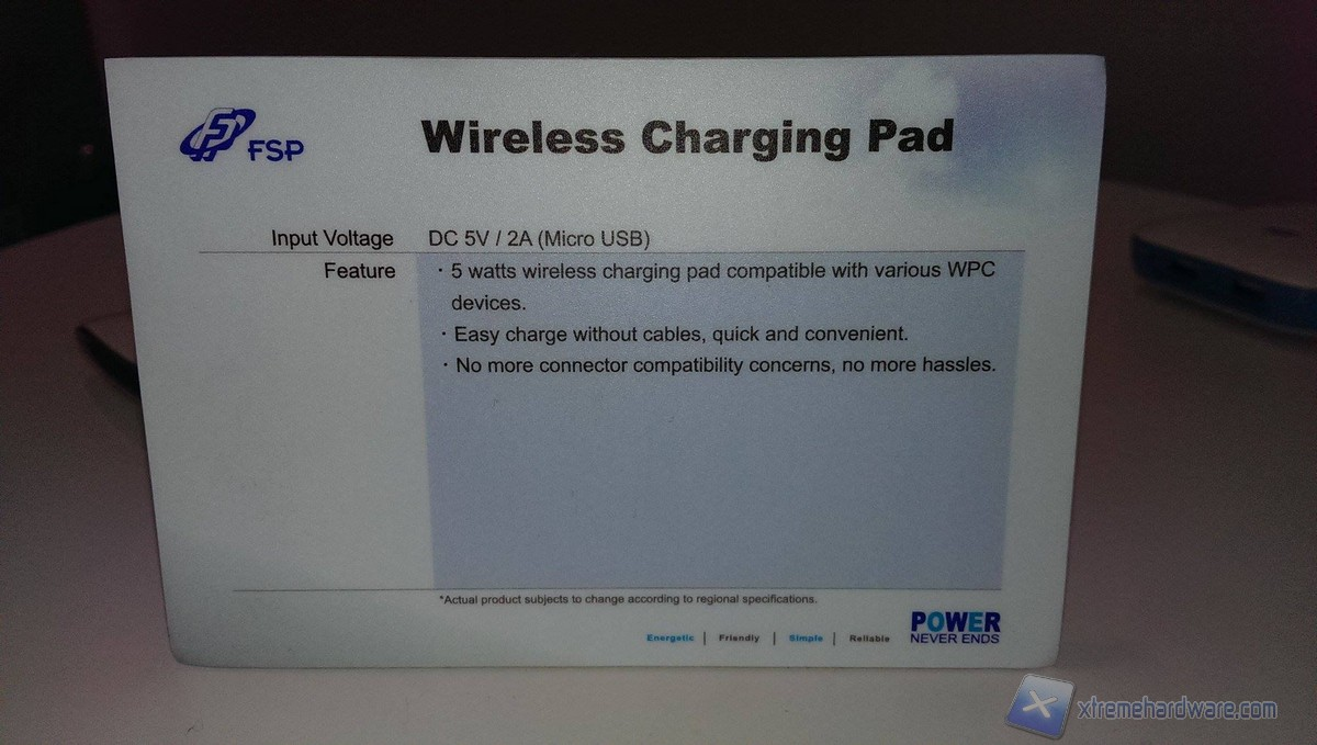 Wireless charginng pad