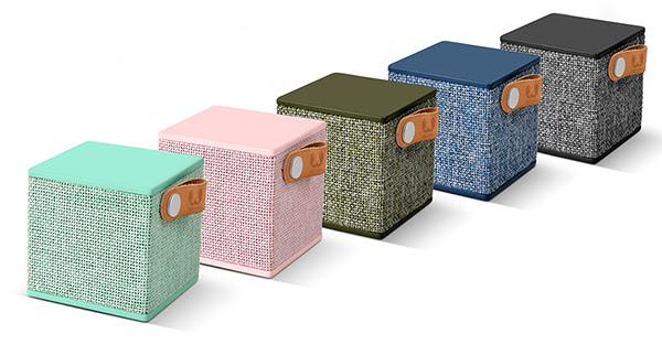 Fresh 'n Rebel presenta Rockbox Cube Edizione in Tessuto: l'altoparlante Bluetooth piccolo ma potente
