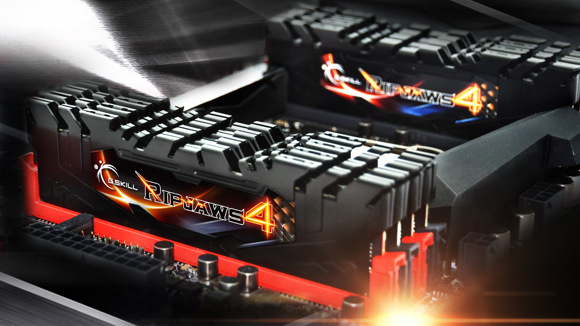 Kit RAM G.SKILL Ripjaws 4 DDR4 fino a 128GB 2800MHz