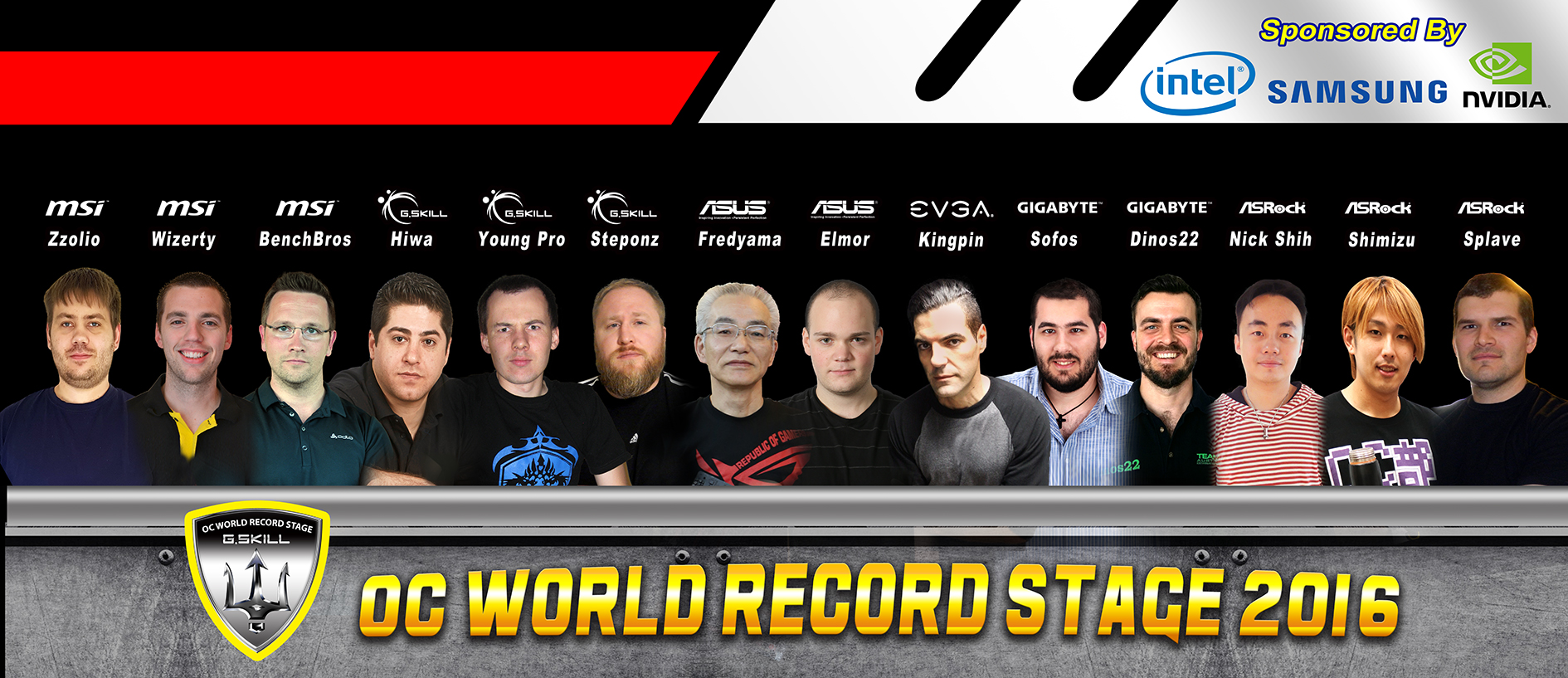 G.SKILL ospiterà l'OC World Record Stage e l'OC World Cup al Computex 2016