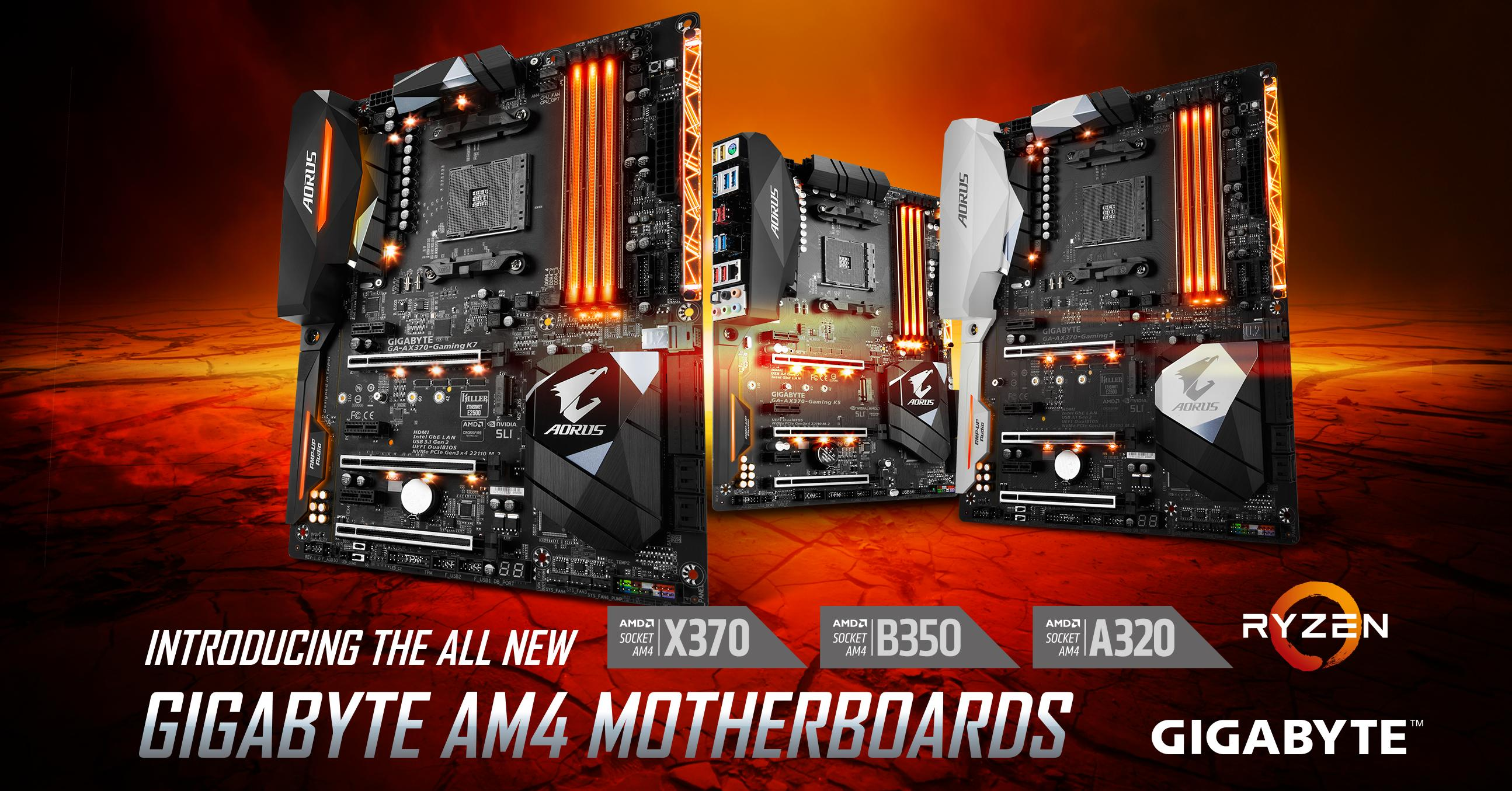 GIGABYTE lancia le Motherboard con Chipset AMD A320