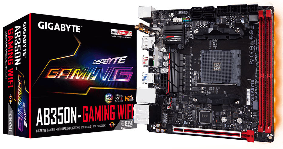 GIGABYTE introduce la AB350N-Gaming WIFI