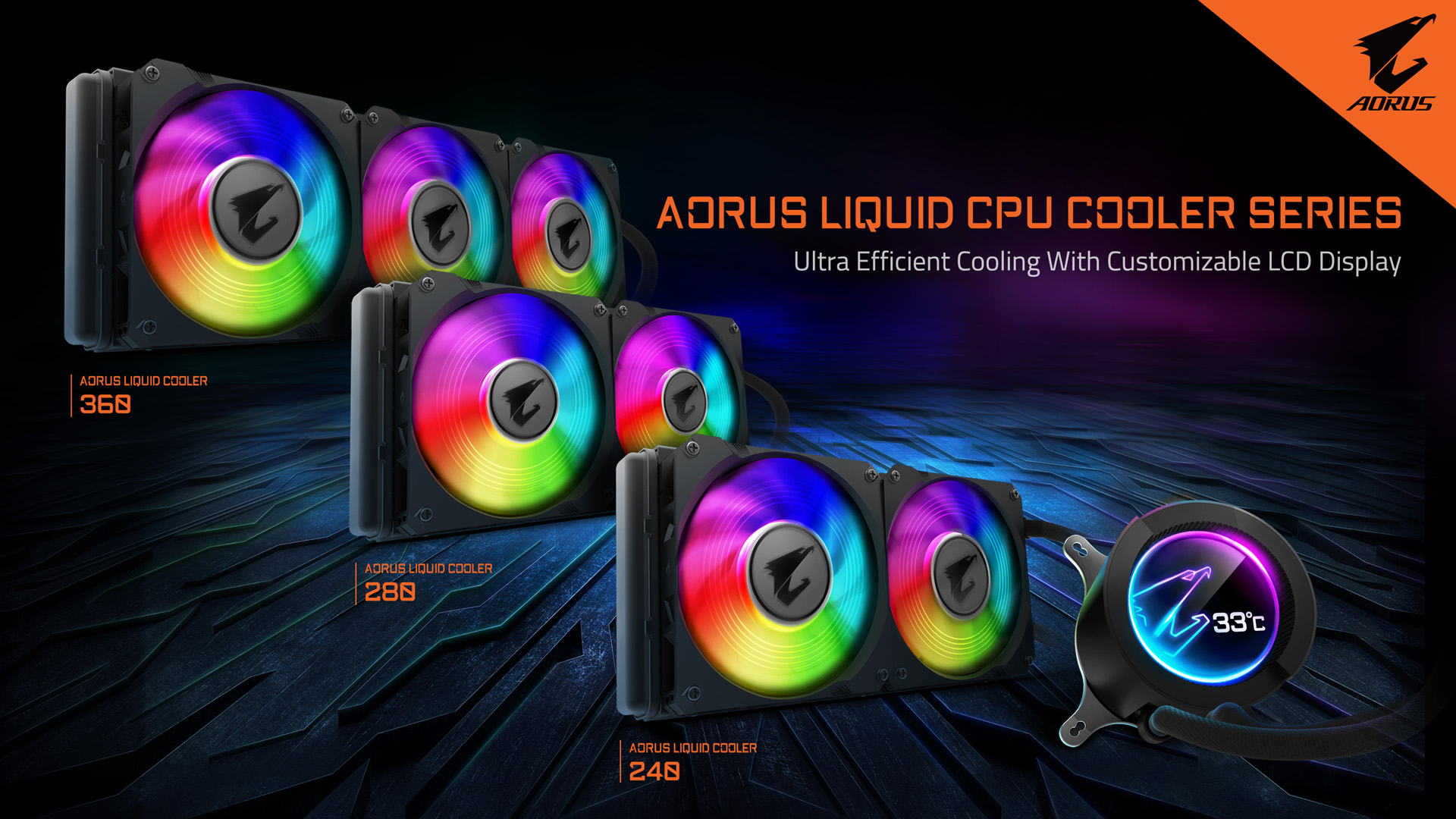 GIGABYTE va ''All-In-One'' con la nuova serie Liquid Cooler AORUS