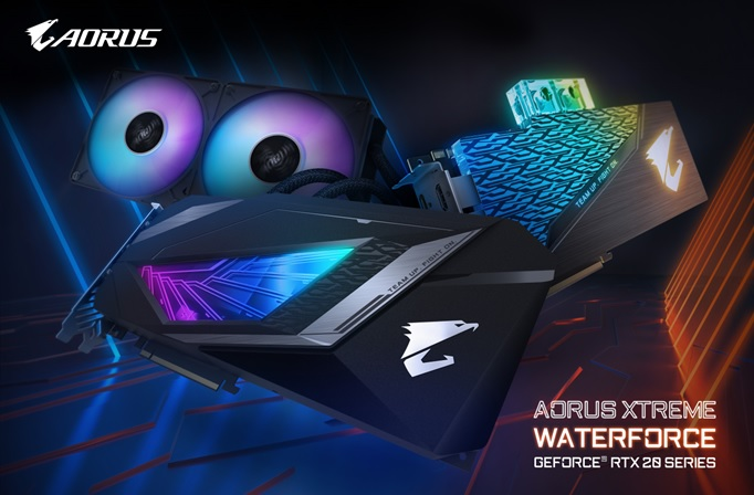 GIGABYTE svela le schede grafiche AORUS Waterforce Xtreme GeForce RTX serie 20