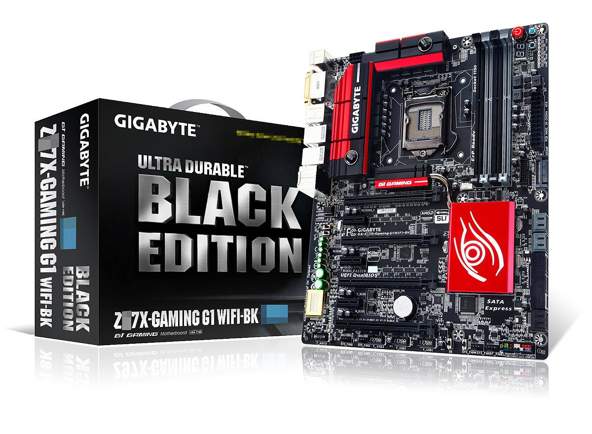 In mostra le GIGABYTE GA-Z97X-G1 Gaming e GA-Z97X-SOC Force