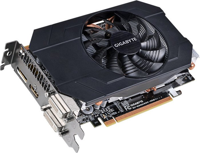 GIGABYTE GeForce GTX 960 Mini in formato ITX