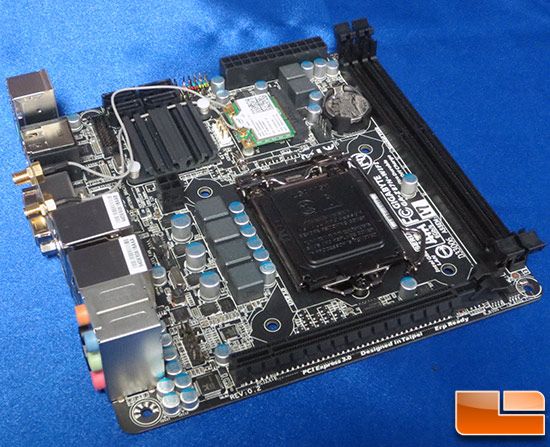 GIGABYTE GA-Z87N-WiFi in formato mini-ITX