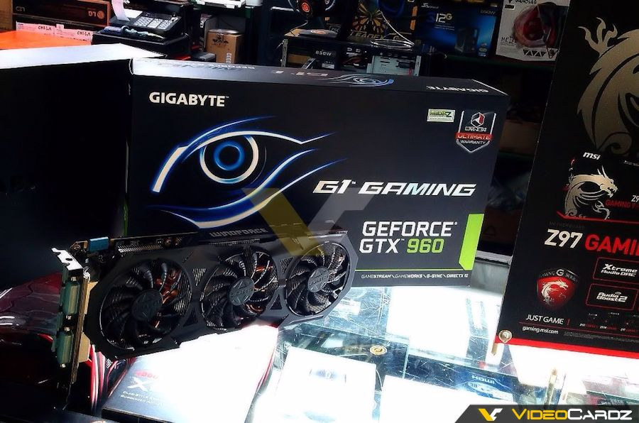NVIDIA GTX 960 in benchmark e in qualche scatto