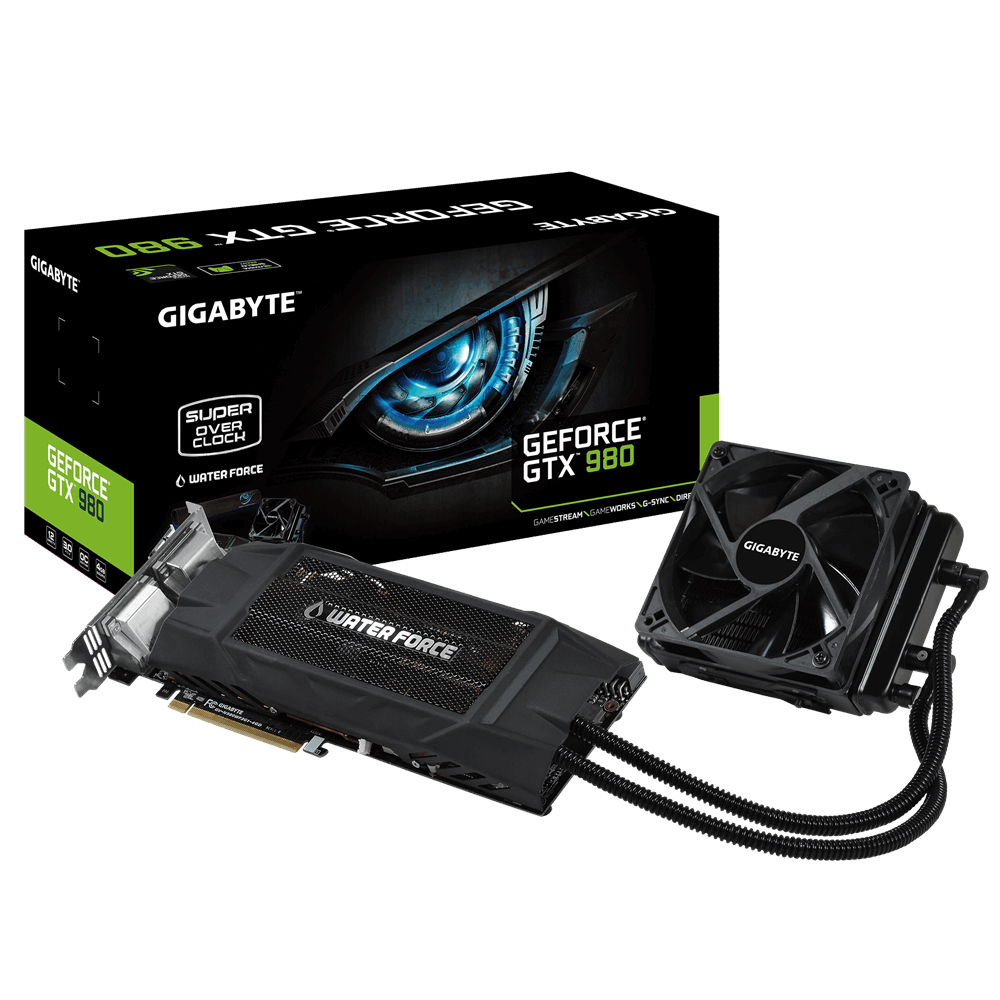 GIGABYTE annuncia la GTX 980 WATERFORCE