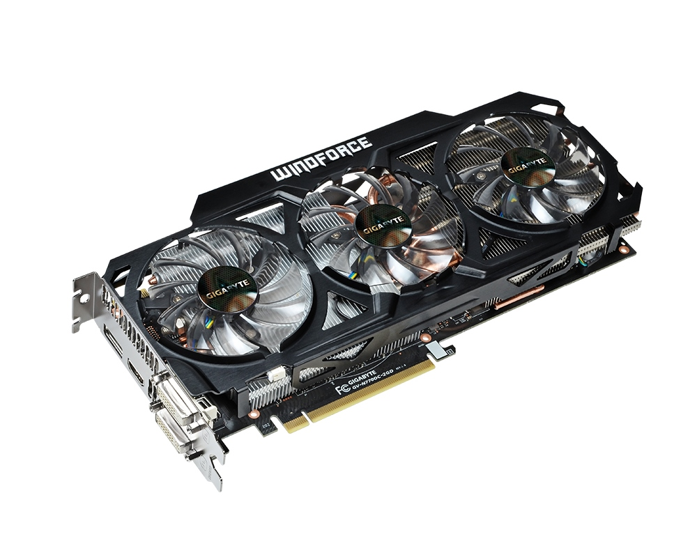 Gigabyte GeForce GTX 770 WindForce 01