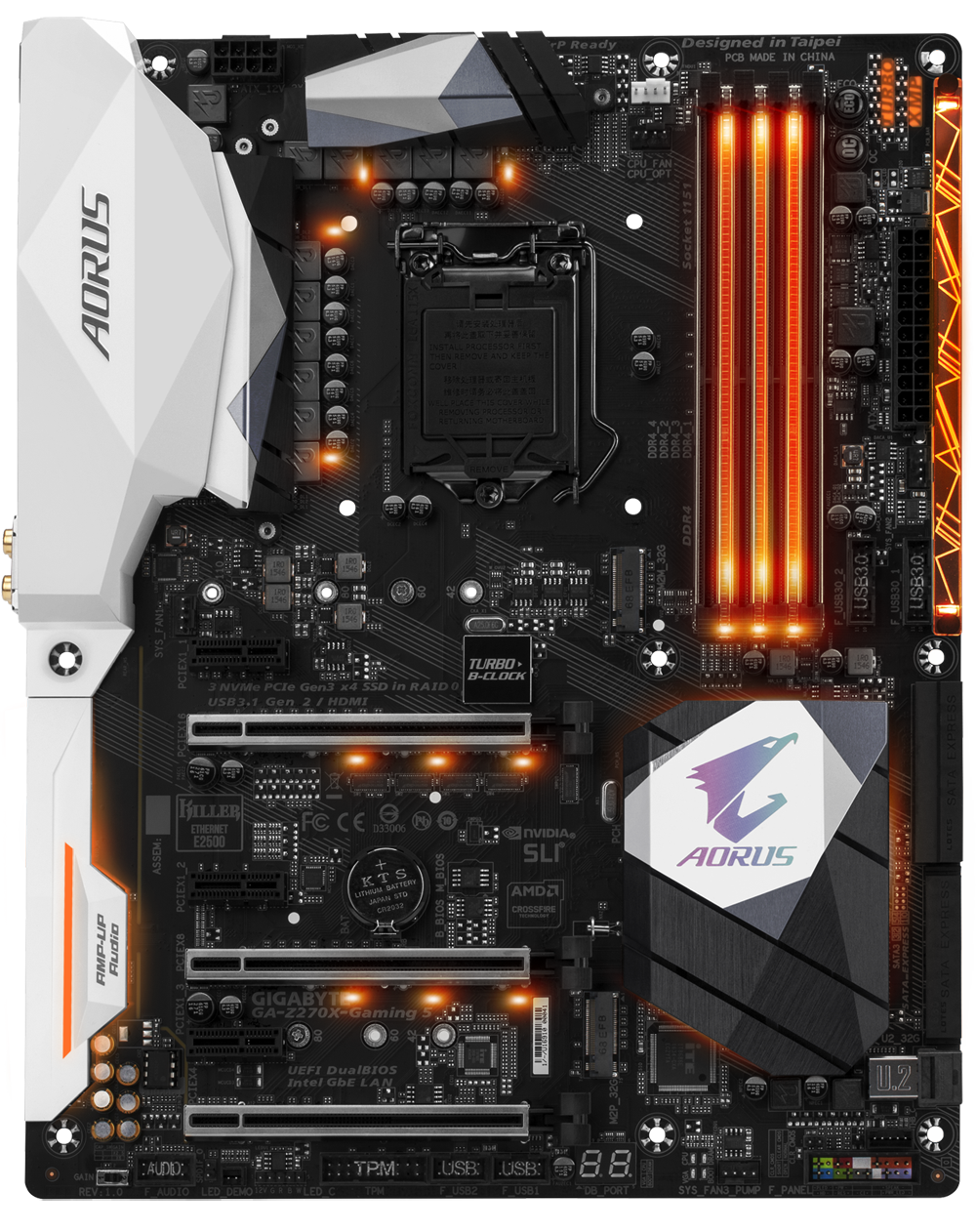 Z270X Gaming 5 Front