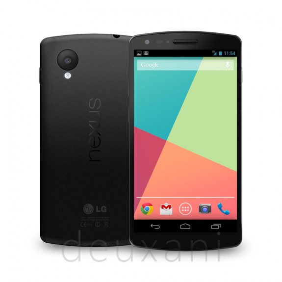 NEXUS 5: tutte le specifiche da un file di log