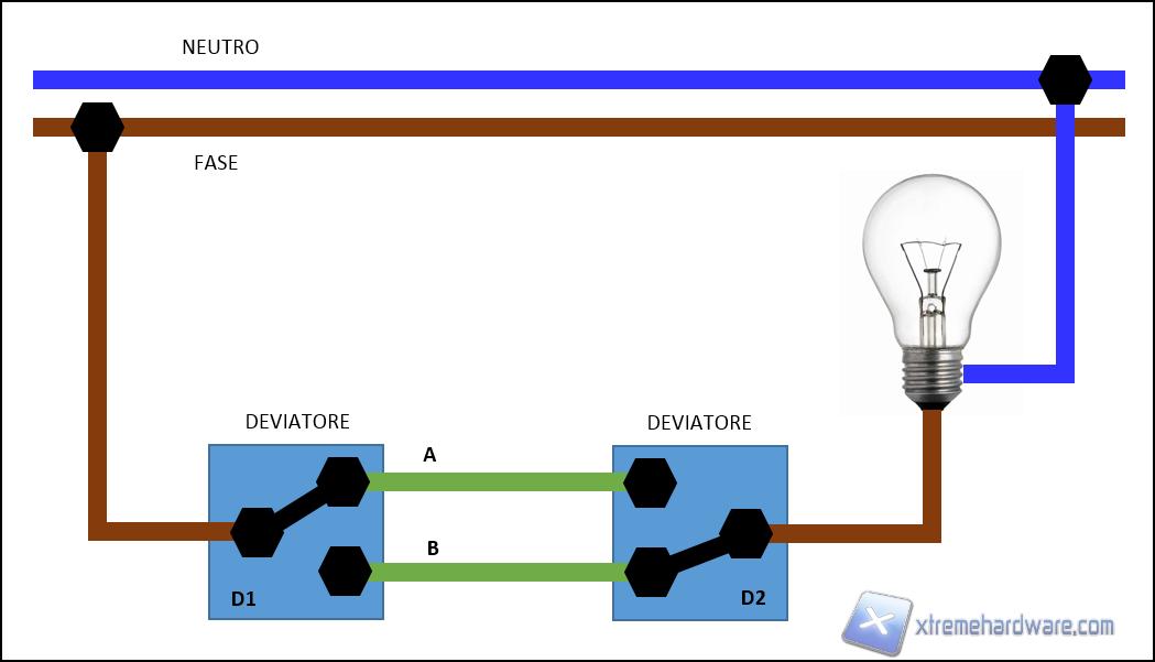 Schema Elettrico Di Un Deviatore : Piccoli passi per una casa domotica con arduino